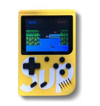 Портативна ігрова ретро приставка з джойстиком SUP 6927 Game Box Yellow