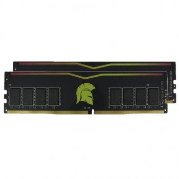 Модуль пам'яті для комп'ютера DDR4 16GB (2x8GB) 2400 MHz Yellow eXceleram (E47060AD)