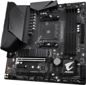 Материнська плата Gigabyte B550M Aorus Pro (sAM4, AMD B550, PCI-Ex16)