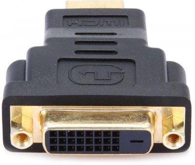 Переходник Cablexpert HDMI-DVI Черный (A-HDMI-DVI-3)