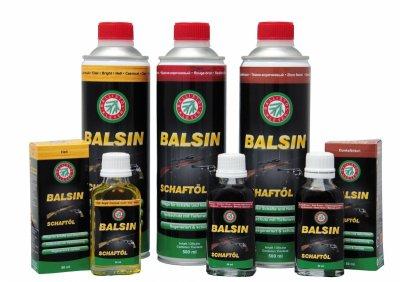 Засіб для обробки дерева Klever Ballistol Balsin 50 ml (червоно-коричневе) (2306)