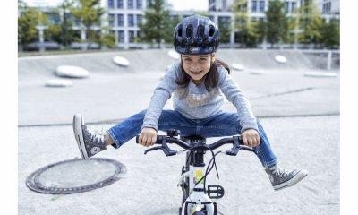 Велосипедний дитячий шолом ABUS SMILEY 2.0 Rose Princess M (50-55 см) (725654)