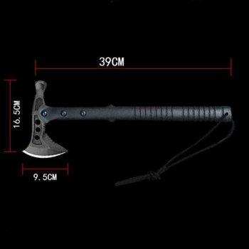 Тактический топор SOG с молотком из стали 440 черный