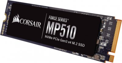 Corsair Force Series MP510 960GB NVMe M.2 2280 PCIe 3.0 x4 3D NAND TLC (CSSD-F960GBMP510B)