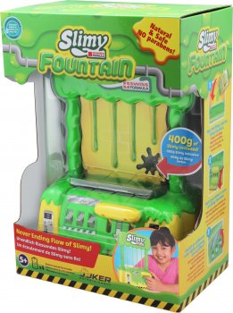Набір Joker Мінімашина Slimy з адаптером і маса Slimy 400 г + додаткова маса у подарунок (7611212330071)
