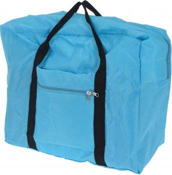 Дорожная сумка ProWorld 20х44х37 см Голубая (FC4900140_blue)