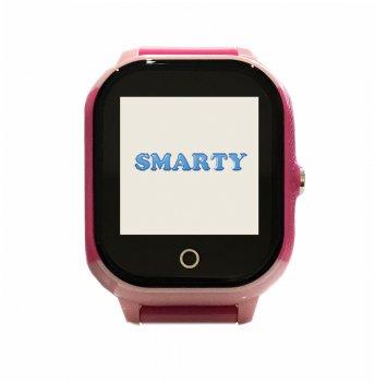 Дитячі водонепроникні смарт-годинник з GPS Smarty SM1 pink (2604)