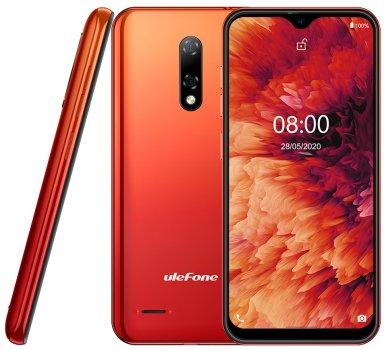 Мобільний телефон Ulefone Note 8 2/16 GB Amber Sunrise (6937748733782)