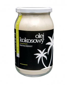 Масло Granum Olej Kokosowy кокосова рафінована 500 г