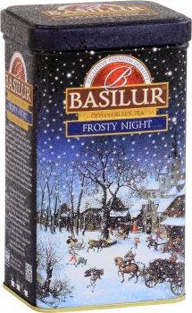 """Чай черный Basilur Подарочная коллекция """"Морозная ночь"""" 85 г (4792252932067)"""