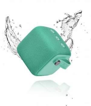 Акустическая система Fresh 'N Rebel Rockbox Bold S Waterproof Bluetooth Speaker Peppermint (1RB6000PT)