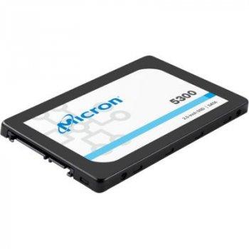 """Жорсткий диск для сервера 480GB SATA 6Gb/s 5300 MAX Enterprise SSD, 2.5"""" 7mm MICRON (MTFDDAK480TDT-1AW1ZABYY)"""