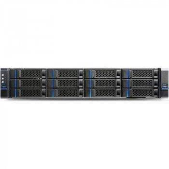 "Корпус для сервера Chenbro 2U,3.5 12BAY,CRPS,W/MINI SAS HD+PSU+3.5"" TRAY+FAN+USB 3.0/LE (RM23812H01*14309)"