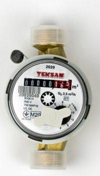 Лічильник холодної води TEKSAN CT20-130 Q3:4,0 R100 T50 P/O одноструменевий