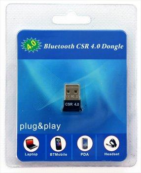 Bluetooth-адаптер USB v4.0 HQ-Tech BT4-S1 Qualcomm CSR8510
