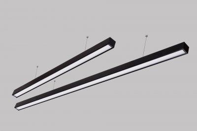 Світлодіодний світильник Z-LED лінійний 50 Вт 980мм чорний (LSN-50b)