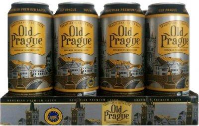 Упаковка пива Old Prague Bohemian Premium Lager светлое фильтрованное 4.8% 0.5 л x 12 шт (8594044191289)