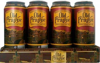 Упаковка пива Old Prague Bohemian Dark Lager темное фильтрованное 4.4% 0.5 л x 12 шт (8594044191296)