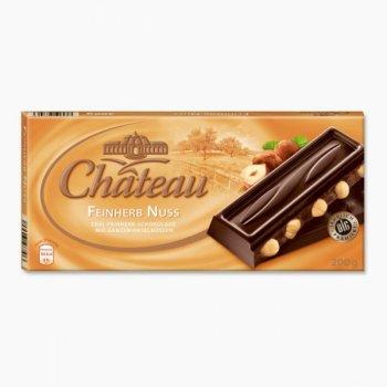 Шоколад черный Chateau Feinherb Nuss 200 г