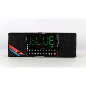 Портативна колонка Годинник USB Радіо, Bluetooth WS-1515 BT