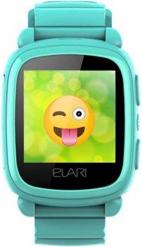 Дитячий телефон-годинник з GPS-трекером Elari KidPhone 2 Green (KP-2G)