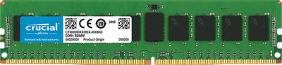 Оперативная память Crucial DDR4-2666 8192MB PC4-21300 ECC Registered (CT8G4RFD8266)