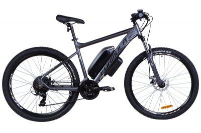 """Электровелосипед 27.5"""" F-1 500Вт 36В, 17.5Ач, макс.пробег 70км, 50 км/ч (графитовый (м))"""