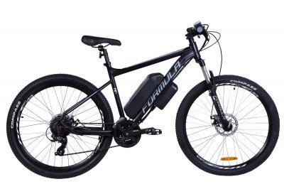 """Электровелосипед 27.5"""" F-1 500Вт 36В, 17.5Ач, макс.пробег 70км, 50 км/ч (черно-белый (м))"""