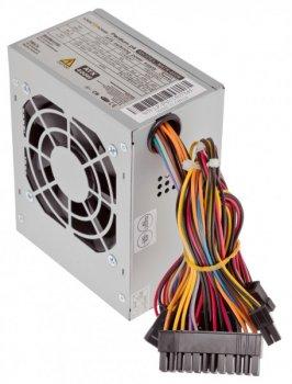 Блок питания для ПК LogicPower Micro mATX 400W, 8см, 2 SATA, OEM, без кабеля питания (LP1418)