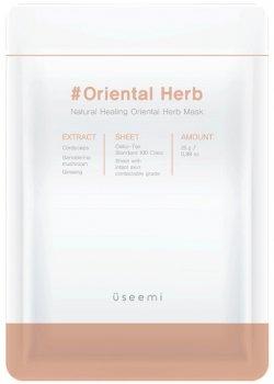 Натуральная целебная маска с травами Useemi Natural Healing Mask Oriental Herb 25 г (8809638300221)