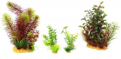 Искусственное растение Yusee набор MAXI 6 шт (ys192713)