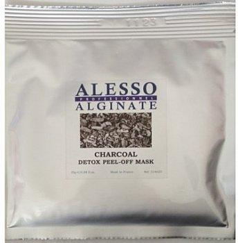 Маска для лица Alesso Charcoal Detox Детокс очищающая для стрессовой кожи 25 г (3273629314170)