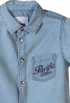 Рубашка джинсовая 5.10.15 1J3606