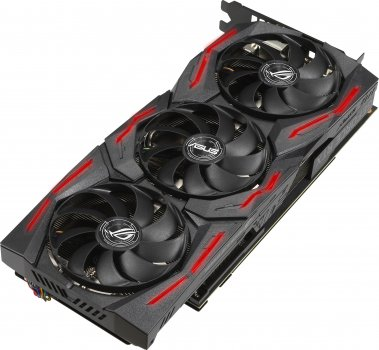 Asus PCI-Ex GeForce RTX 2060 Super ROG Strix 8G Gaming EVO V2 OC Edition 8GB GDDR6 (256bit) (1470/14000) (2 x DisplayPort, 2 x HDMI) (ROG-STRIX-RTX2060S-O8G-EVO-V2-GAMING)