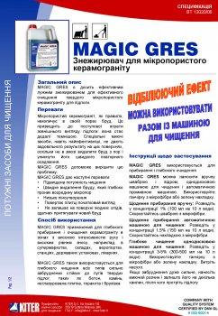 Моющее средство Kiter Magic Gres для полов 3 л (120020.3L)