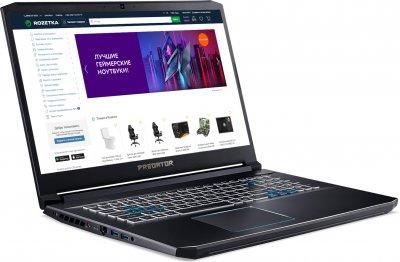 Ноутбук Acer Predator Helios 300 PH317-54-72K5 (NH.Q9VEU.009) Abyssal Black