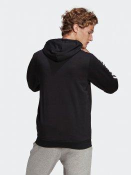 Толстовка Adidas M 3S Ft Fz Hd GK9032 Black/White