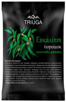 Аюрведический порошок Triuga Эвкалипт 2 х 50 г (4820164641194)