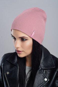 Женская Шапка Leks-Jolie Дельта Размер (53-57) Цвет (розовый рассвет)
