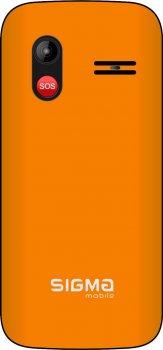 Мобільний телефон Sigma mobile Comfort 50 HIT2020 Orange
