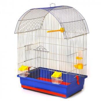 Клетка для птиц Лорі Виола 66 х 47 х 30 см Синяя (ПФ-23518)
