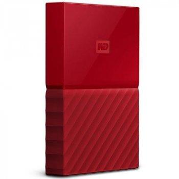 """Зовнішній жорсткий диск 2.5"""" 1TB Western Digital (WDBYNN0010BRD-WESN)"""