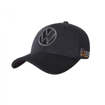 Бейсболка с логотипом автомобиля Volkswagen Sport Line 5154 57-60 цвет серый
