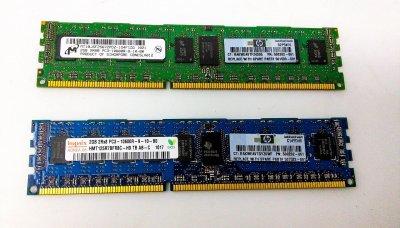 Оперативна пам'ять HP 2GB (1x2GB) DualRank PC3-10600 Memory Kit (501533-001) Refurbished