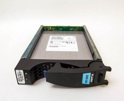 SSD EMC 200GB 3.5 in SAS SSD for VNX (VX-VS6F-200) Refurbished
