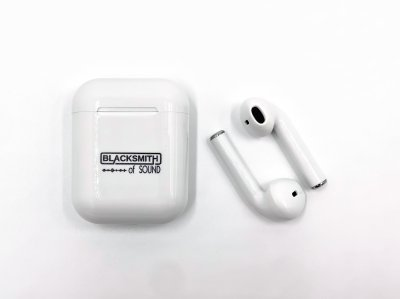 Бездротові Bluetooth-навушники BLACKSMITH i9S TWS Super Bass 5.0 Auto-on Auto-off з док-станцією White