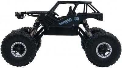 Автомобіль на р/к Sulong Toys 1:18 Off-Road Crawler Tiger Матовий чорний (SL-111RHMBl)