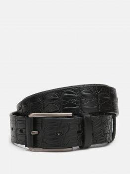 Мужской ремень кожаный Sergio Torri 14-0033/35 125 см Черный (2000000019642)