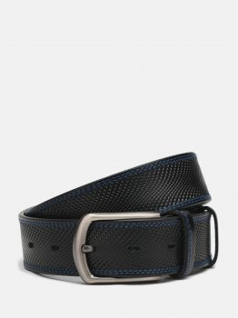 Мужской ремень кожаный Sergio Torri 14-0032 /35 125 см Черный (2000000019611)