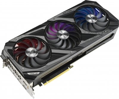 Asus PCI-Ex GeForce RTX 3080 ROG Strix OC 10GB GDDR6X (320bit) (1440/19000) (2 x HDMI, 3 x DisplayPort) (ROG-STRIX-RTX3080-O10G-GAMING)